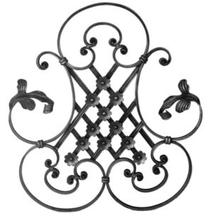 Ornament aus Schmiedeeisen