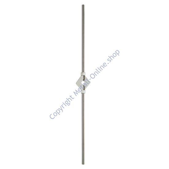 Zierstab, Edelstahl (AISI 304 - V2A), verschiedene Größen